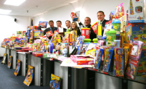 Davison Employees raise more than $4,000 for Toys for Tots