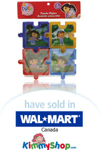 Dora Explorer Puzzle Plates on the Market!