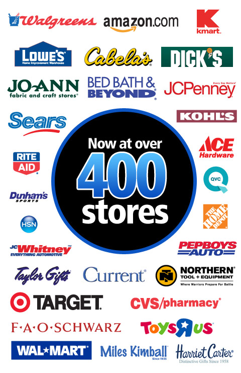 Davison Products sold in Over 400 Stores!