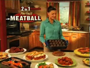 Meatball Baker, aka Perfect Meatball, ad coming to TV!