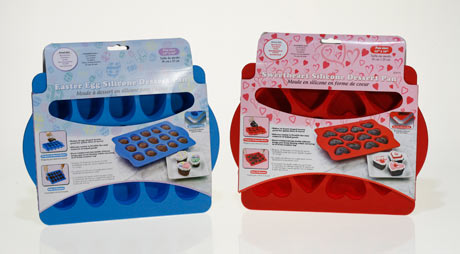 Sweet product news – Sweetheart Silicone Dessert Pan in stores for Valentine's Day!