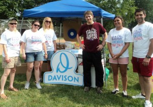 Davison Employees Bring Innovation to the 2011 Riverview Relay for Life
