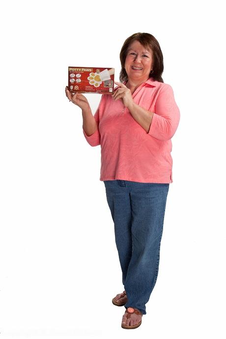 Meet Kathy, Potty Paws Inventor