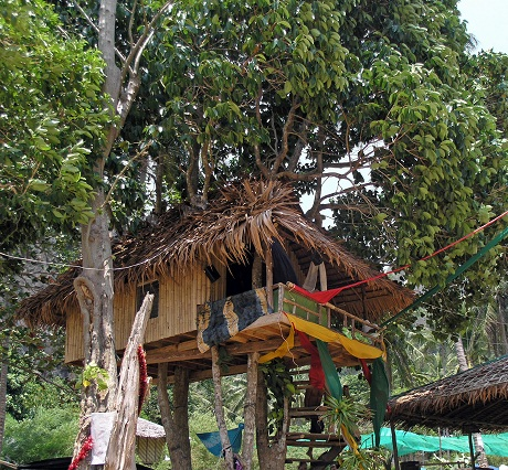 creative treehouse