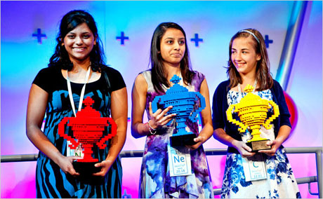 American Girls Sweep Google Science Fair!