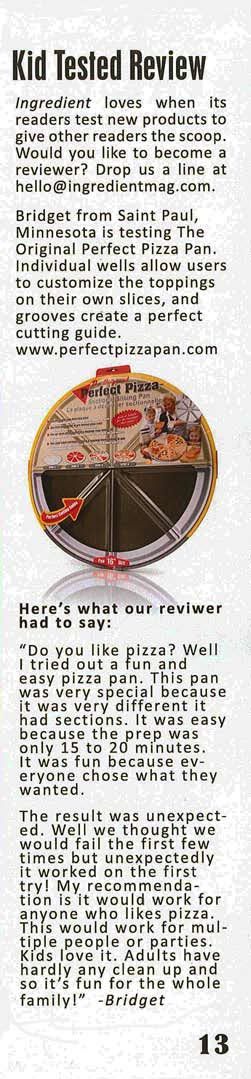 Kid Tested, Perfect Pizza Pan Approved!