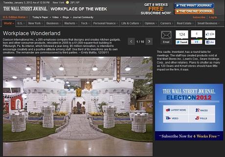 """Workplace Wonderland"" Inspires Internationally!"