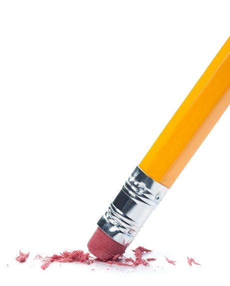 who invented the pencil eraser