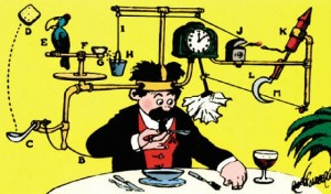 The Noble Rube Goldberg Machine… From Creationeer Extraordinaire, Lucky