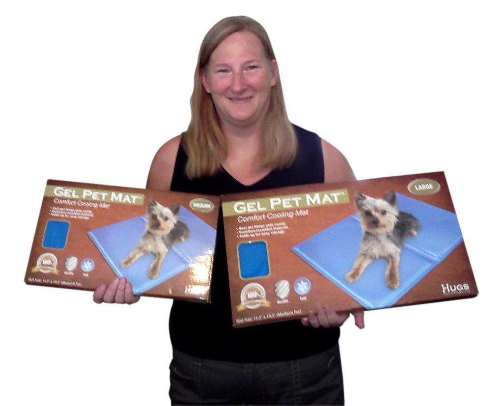 Meet Diana, Inventor of the Gel Pet Mat
