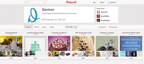 Davison is Getting Pinteresting… Plus!