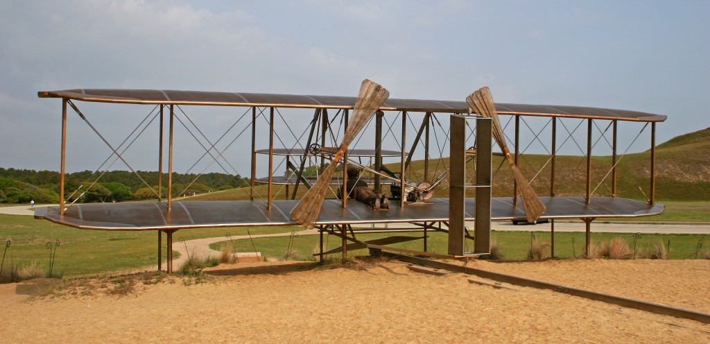 wright brothers first airplane flight