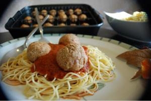 spider meatballs pinterest
