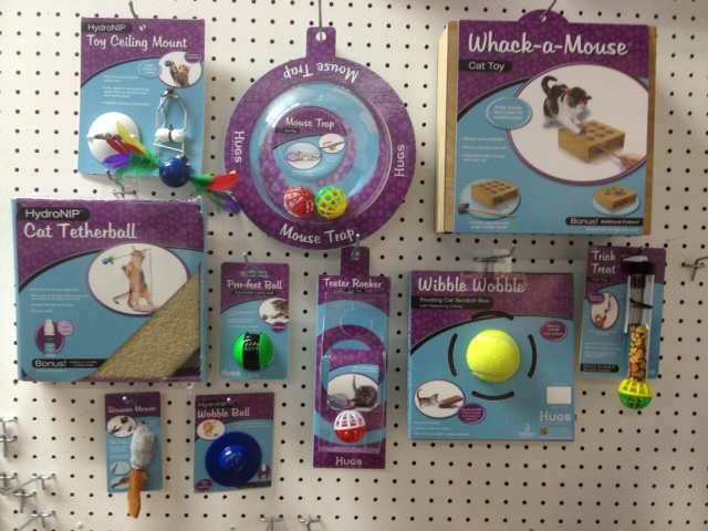 Davison-designed Cat Toys Curl Up to Petco Shelves!