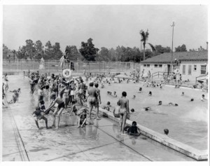 After The Modern Olympic Games Which Began In 1896, With Swimming Races,  Among The Original Events, The Popularity Of Swimming Pools Began To Spread  As ...