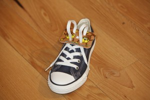 Classroom Creativity Leads To New Invention For Tying Shoes Davison