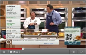 Reminder: Our Client's Miracle Meatloaf Pan is on QVC TONIGHT!