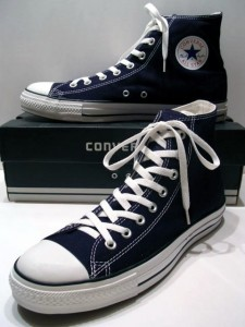 Out with the Old and in with the New Converse Shoes
