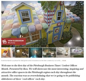 Guess Who Made the Pittsburgh Business Times' List of the City's Coolest Offices!