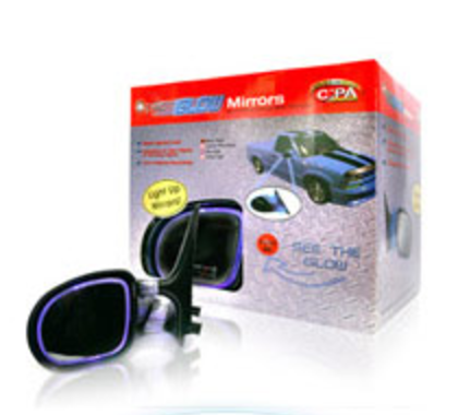 Davison Produced Product Invention: Optic Mirror (Glow) Packaging