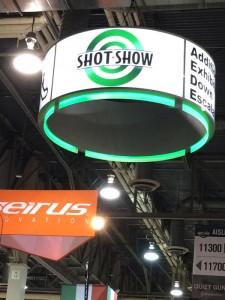 SHOT Show - Sign