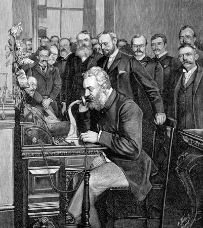 Alexander Graham Bell Phone - Davison