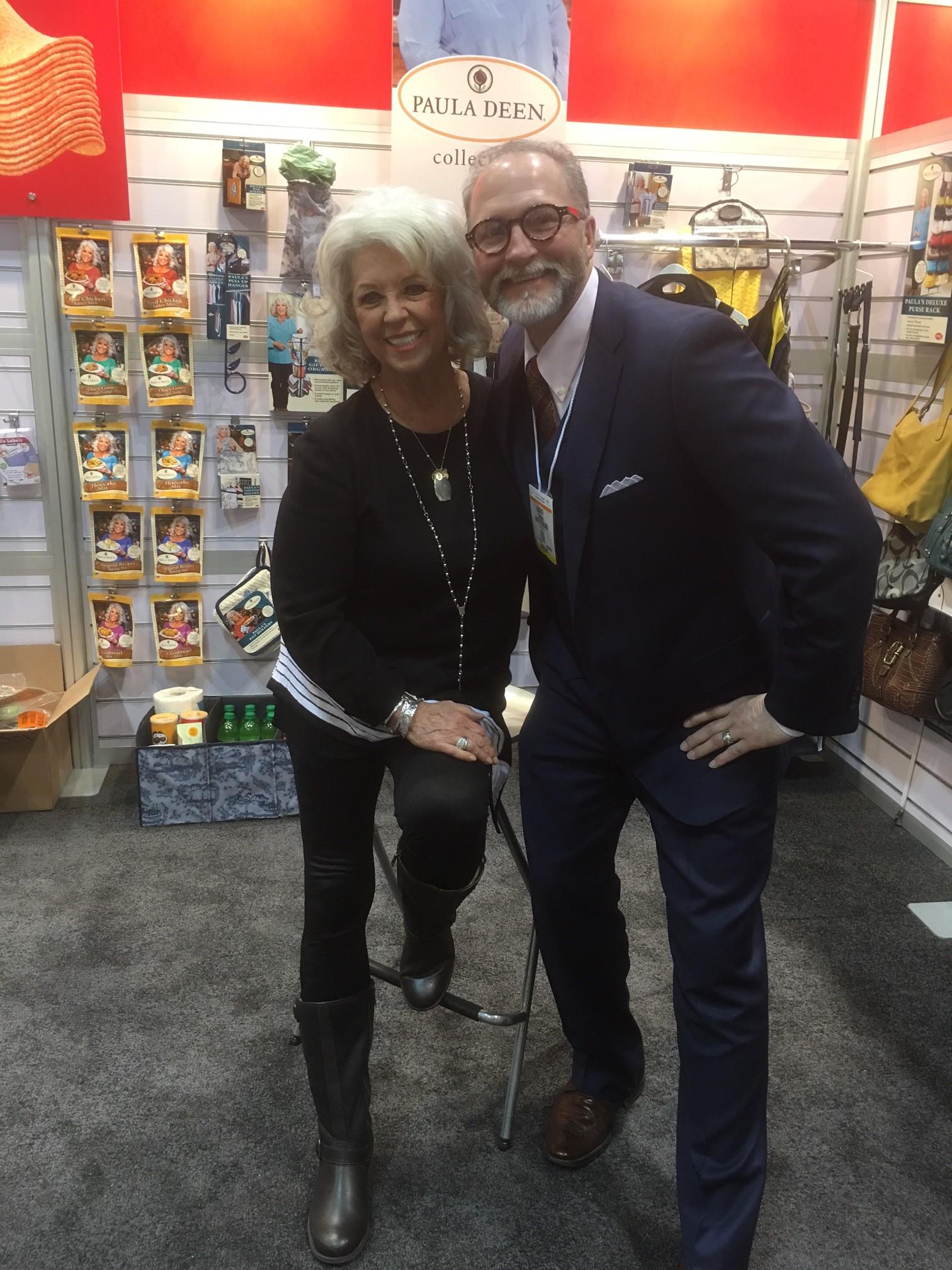 Paula Deen and George Davison - IHHS 2016