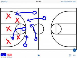 Coach's Whiteboard Davison App