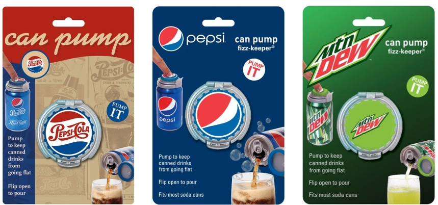 Davison Products Align With Big Beverage Brands, Pepsi & Mountain Dew!