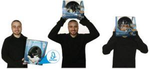 Helmet package demonstration