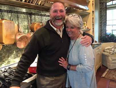 Mr. Davison (aka Mr. D) with Paula Deen