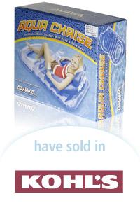 Davison Designed Product Idea: Aviva Aqua Chaise Packaging
