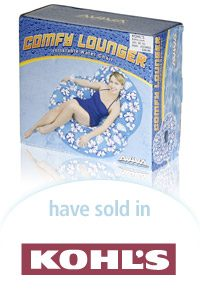Aviva Comfy Lounger Packaging