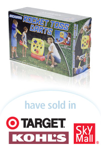 Davison Designed Product Idea: Aviva Rocket Toss Darts Packaging