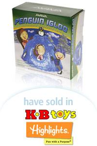 Davison Designed Product Idea: Aviva Penguin Igloo Packaging