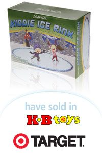 Aviva Kiddie Ice Rink Packaging