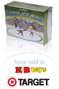 Davison Designed Product Idea: Aviva Kiddie Ice Rink Packaging