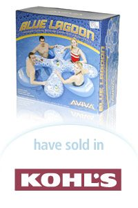 Aviva Blue Lagoon Packaging