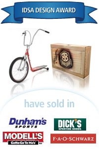 Davison Designed Product Idea: The BikeBoard - Cruiser
