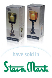Davison Designed Product Idea: Candle Holder - Tall Packaging