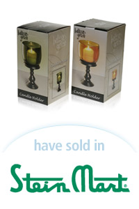 Davison Designed Product Idea: Candle Holder - Medium Packaging