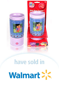 Davison Designed Product Idea: Dora Slideshow Tumbler
