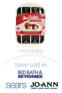 Davison Designed Product Idea: Half N Half Cupcake Pan - Mrs. Fields