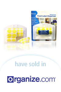 Davison Designed Product Idea: Food Label Dispenser