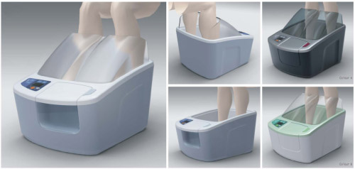 Davison Designed Industrial Product Idea: Foot Massage Tub