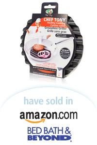 Davison Designed Product Idea: Chef Tony Greaseless Grillers