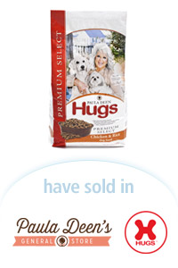 Davison Designed Product Idea: Paula Deen® Hugs® Premium Select Dog Food