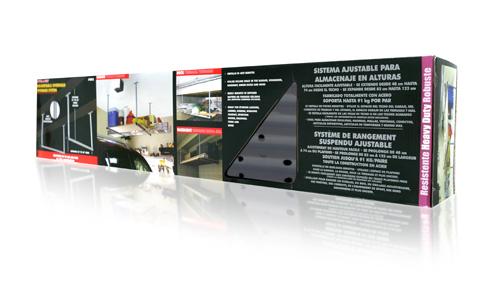 Davison Produced Product Invention: Adjustable Overhead Storage System
