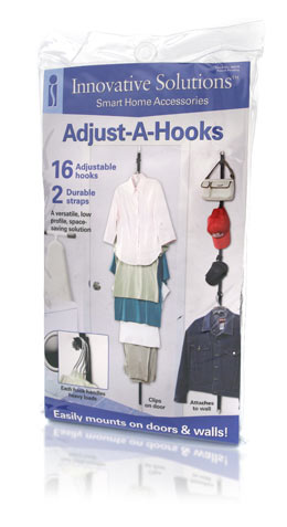 Davison Produced Product Invention: Adjust-A-Hooks