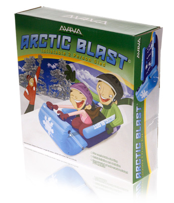 Davison Produced Product Invention: Aviva Arctic Blast Packaging